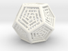 Dodecahedron Lattice 3d printed