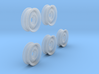 1-35 600x16 Empty Wheels Set2 3d printed