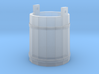 18th Century Pale or Bucket 1/43.5 Scale (7mm) 3d printed