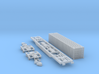 Containertragwagen Sgnss mit 45ft Container 3d printed