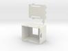 WeMos OLED Shield Case / ESP8266 3d printed
