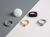 archetype - signature ring round 3d printed entire archetype collection