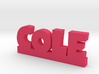 COLE Lucky 3d printed