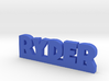 RYDER Lucky 3d printed