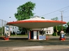 Flying Saucer Gas Station 1-160 3d printed