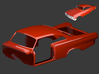 Ford Starliner 1961 Body 1/8 3d printed