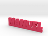 MANUEL Lucky 3d printed