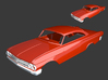 Ford Starliner 1961 Grill 1/8 3d printed