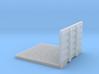 1/87th 8' Drom headache rack Deck for Semi Tractor 3d printed