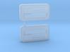 ABC Hobby EF8 CRX Door Handles 3d printed