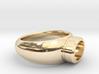 "Ring ""Gijsbrecht"" 3d printed"