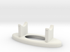 Standard Lightsaber Stand w/ Plaque Holder 3d printed