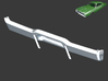 Dodge Charger 1968 Rear Bumper 1/8 3d printed