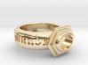 """Ring """"Sic Transit Gloria Mundi"""" 3d printed"""