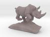 Rhino Gray 6''long 3d printed