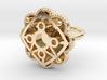 Star ring Astrum 3d printed