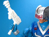 Cosmic Weapons Pack for MOTU and Similar Figures 3d printed The Cosmic Ray Pistol