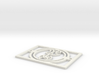 Gallifreyan Light Plate - Good Night 3d printed