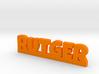 RUTGER Lucky 3d printed