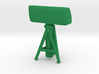 1/144 Scale Nike LOPAR Radar 3d printed