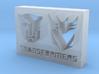 Transformers Logo 3d printed