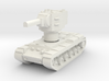 KV2 Rotatable turret 3d printed