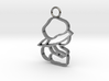 Top & Tail Silver Sitting Baby Figure 3d printed