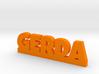 GERDA Lucky 3d printed