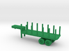 1/144 Scale M269 Semitrailer Low Bed 3d printed