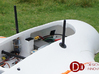 Support Telemetry Antenna for Drones 3d printed Telemetry Supports Aerials in X8 Skywalker D