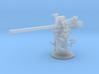 1/240 USN 3 inch 50 cal USN Deck Gun 3d printed