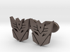 decepticons cufflinks  3d printed