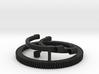 Follow focus gear for Arri Standard Cooke lens 3d printed