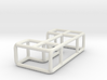 Bench 5 scale 1-100 3d printed