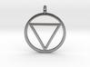 Naruto Jashin Pendant/Keyring (SMALL) 3d printed
