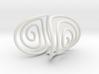 Spiral Torision Spring Inspired Bracelet 3d printed