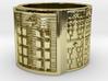 BABA OYEKUN MEYI Ring Size 13.5 3d printed