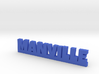 MANVILLE Lucky 3d printed