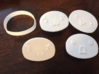 ASCII Art Cookie Cutter&stamp set 3d printed White Strong & Flexible