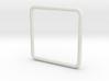 Anello Quadrato Dim Effettive 3d printed