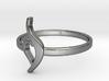 NEDA Symbol Ring - US size 8 3d printed