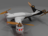 Aerial DRONE Arm Kit DiaLFonZo Vtail Copter 400 3d printed