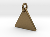 Triangle Nickel Size Pendant 3d printed