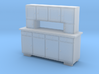 TT Cupboard 4 Doors - 1:120 3d printed