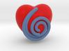 Spiral Heart 3d printed