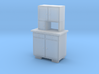H0 Cupboard 2 Doors - 1:87 3d printed