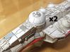 CR-90 Corvette Turret Replacement (Ep III) 3d printed