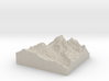 Model of Teepe Pillar 3d printed