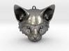 Feline Huntress Pendant 3d printed