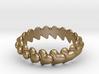 Hearts Bracelet 75 3d printed